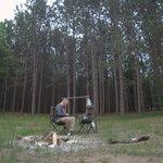 Garey lake trail camp