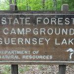 Guernsey lake campground