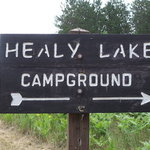 Healy lake campground