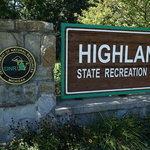 Highland state recreation area