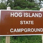 Hog island point campground