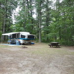 Holland lake campground