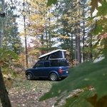 Hovey lake camping area
