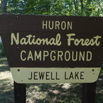 Jewell lake campground huron nf