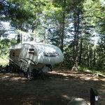 Kingston lake campground