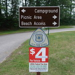 Lake michigan campground hiawatha nf