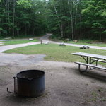 Lake michigan campground hiawatha nf