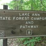 Lake ann campground