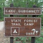 Lake dubonnet trail camp