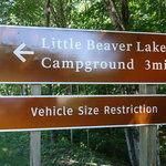 Little beaver lake campground