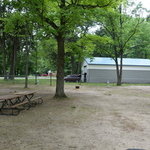 Log lake campground