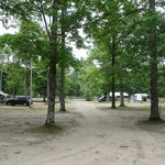 Log lake campground
