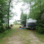 Milakokia lake campground