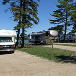 Munising tourist park campground
