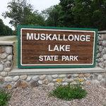 Muskallonge lake state park