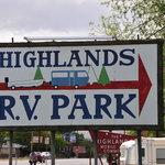 Highlands rv park
