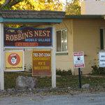 Robbins nest mobile village