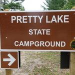 Pretty lake campground