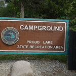 Proud lake state recreation area