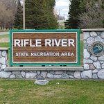 Rifle river recreation area spruce campground