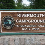 Rivermouth campground tahquamenon falls state park