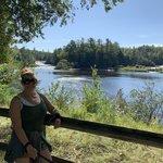 Lower falls campground tahquamenon falls state park