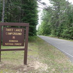 Three lakes campground