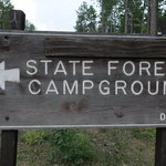 Thunder bay river campground