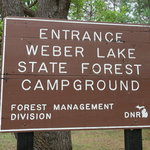 Weber lake campground
