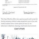 Bertha city park
