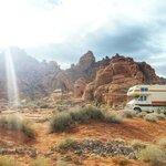 Atlatl rock campground valley fire sp
