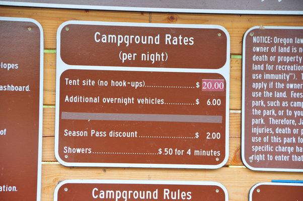 Oak slope campground