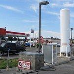 Exxon gas station omak