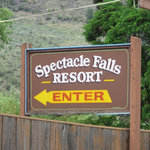Spectacle falls resort