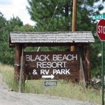 Black beach resort rv park