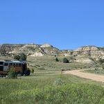 Wannagan campground little missouri national grassland