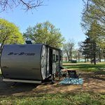 Glenn cunningham lake campground