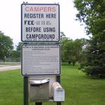 Island park city campground