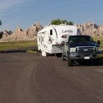 Cedar pass campground badlands np