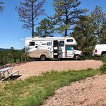 Cottonwood springs campground hot springs sd