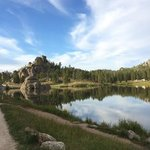 Sylvan lake campground custer state park