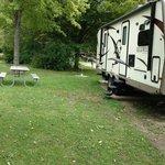 Cliffside park campground