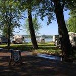 Stockholm park campground