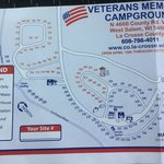 Veterans memorial park campground