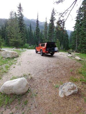 Lone fir campground