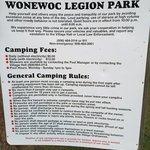 Wonewoc legion park