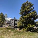 Peak one campground