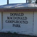 Donald macdonald campground