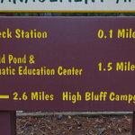 High bluff campground
