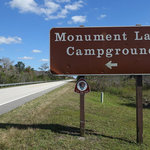 Monument lake campground